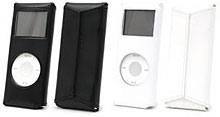 SEPIACE Leather Sleeve for iPod nano 2nd Gen.