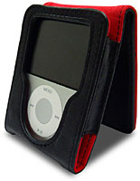 Sumajin Flip Leather Case for iPod nano 3G