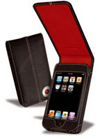 Covertec Luxury Leather Flap Case for iPod touch