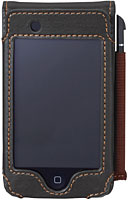 Leather Case + Touch Pen for iPod touch(PIP-LCTP)