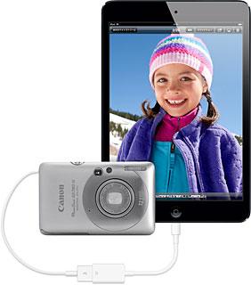Lightning - USBカメラアダプタ