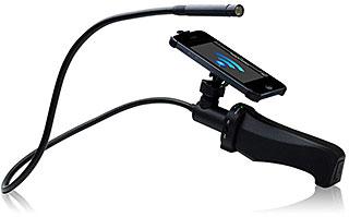 TUNEWEAR Snake Cam with iPhone mount グネグネWi-Fiカメラ