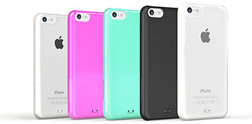 TUNEWEAR eggshell for iPhone 5c