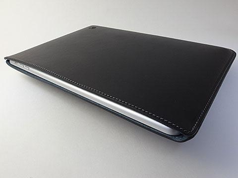 バズハウスデザイン ハンドメイドレザーケース for iPad Air
