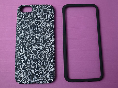 GRAPHT Keith Haring Collection Bezel Case for iPhone 5s/5 with Earphones