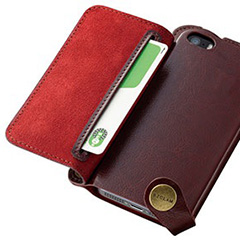 BZGLAM Wearable Leather Cover for iPhone 5/5s