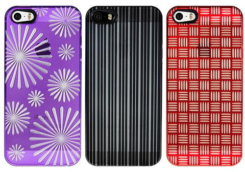 パワーサポート Air Jacket kiriko modern for iPhone 5s/5