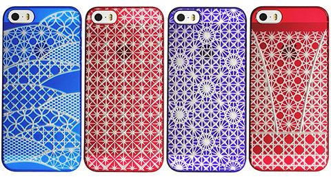 """AIR JACKET """"kiriko"""" for iPhone 5s/5"""