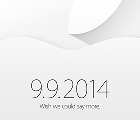 Apple Special Event「9.9.2014 wish we could say more.」