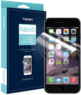 Spigen シュタインハイル フレックス HD スクリーンプロテクター for iPhone 6/6 Plus