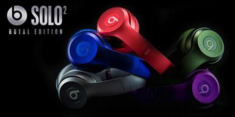 Beats Solo2オンイヤーヘッドフォン Royal Edition