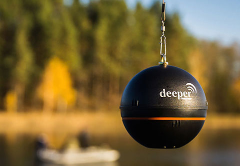 Deeper ワイヤレススマート魚群探知機