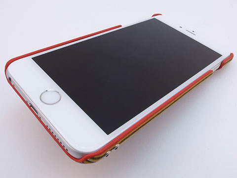 Simplism Fabric Case with Card Pocket for iPhone 6/6 Plus