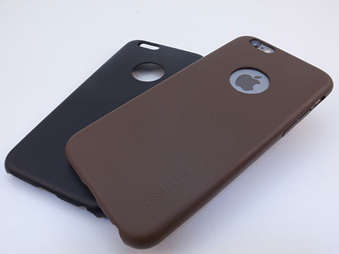 Spigen iPhone 6/6 Plusケース レザー・フィット