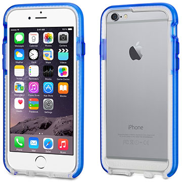 The Tech21 Evo Band case with FlexShock for iPhone 6