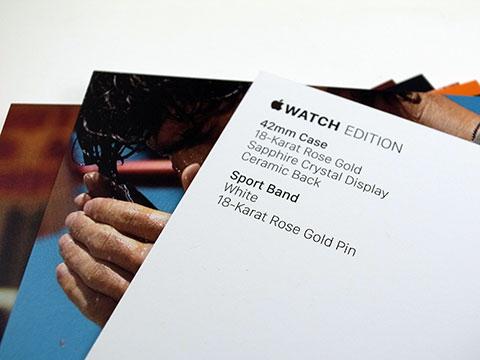 Apple Watch カード