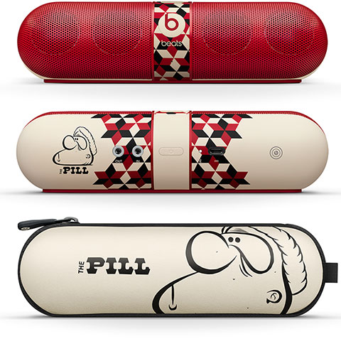 Beats by Dr. Dre Pill 2.0 Speaker、Limited Edition Artist Barry McGee