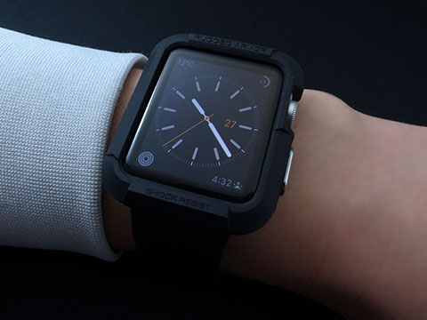 SpigenのApple Watch用ケース