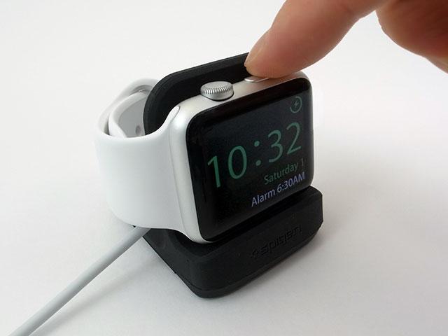 Apple Watch用スタンドSpigen S350