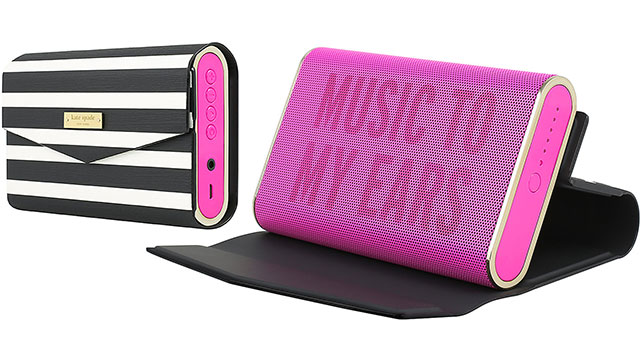 【kate spade new york】Portable Wireless Speaker with Cover