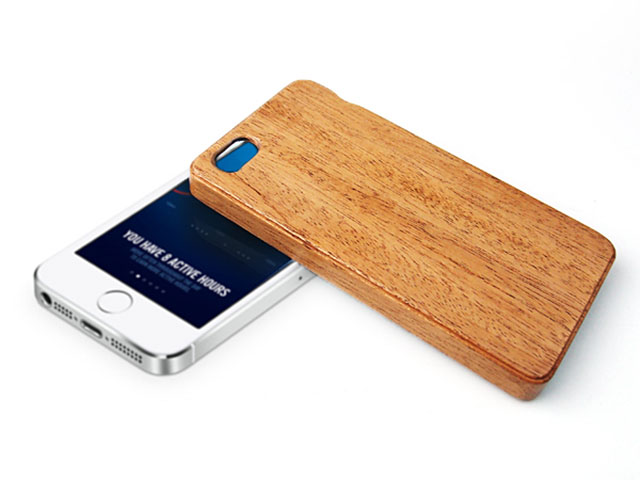 LIFE iPhone SE用木製ケース