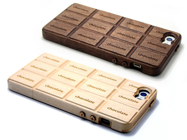 iPhone SE用(5/5s共用)チョコホ~Wood~