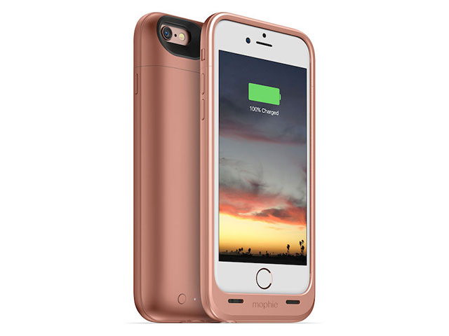 mophie juice pack air for iPhone 6s/6 ローズゴールド