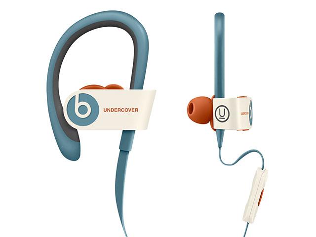 Beats Powerbeats2 ワイヤレスヘッドフォン、Undercoverリミテッドエディション - オレンジ/ブルー