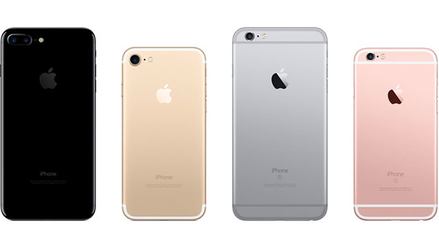 iPhone 7/7 PlusとiPhone 6s/6s Plus