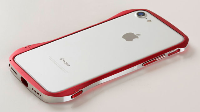 Deff Cleave Aluminum Bumper Limited Edition for iPhone 7 Hamee限定レッド