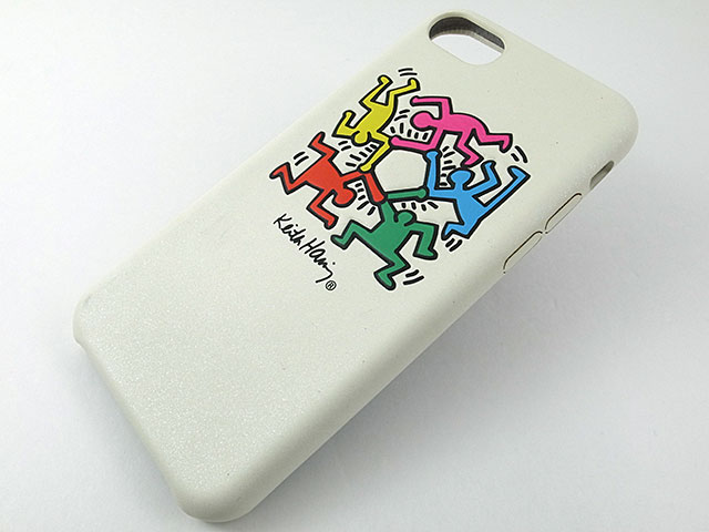 Keith Haring Collection PU Case/Flip Cover for iPhone 7