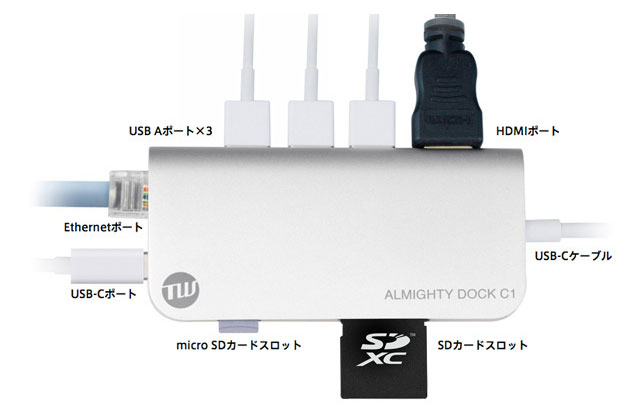TUNEWEAR ALMIGHTY DOCK C1