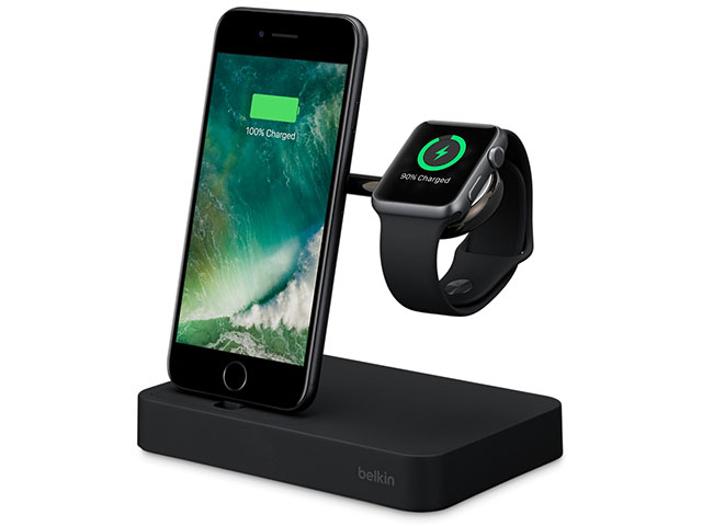 Belkin Valet Charge Dock for Apple Watch + iPhone ブラック