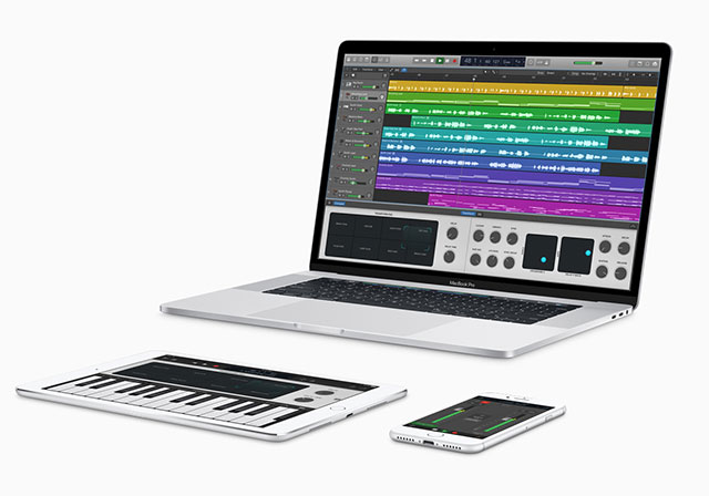 GarageBand and Logic Pro X