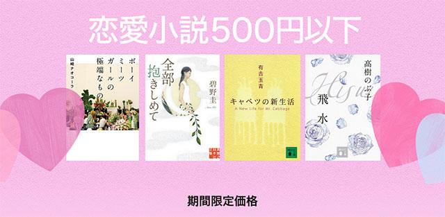 恋愛小説 500円以下