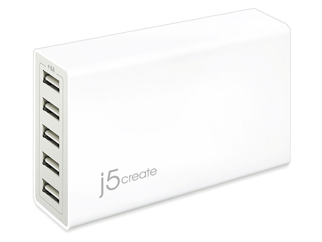 JUP50 40W 5ポート USB急速充電器