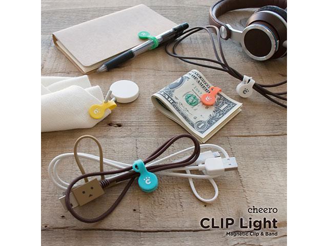 cheero CLIP Light (5色セット)