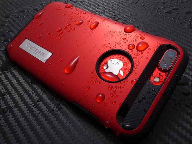 Spigen スリム・アーマー for iPhone 7 Plus レッド
