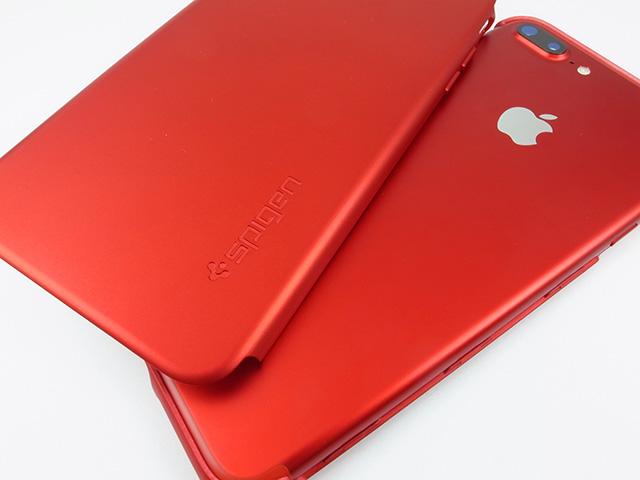 iPhone 7 Plusケース Spigenシンフィット360(エアーフィット360)レッド