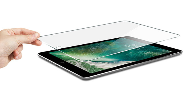iPad 9.7 (2017)用 ITG Plus - Impossible Tempered Glass - PATCHWORKS