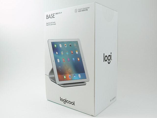 Logi BASE Smart Connector付き充電スタンドiPad Pro用