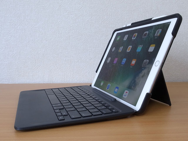 Logicool Slim Combo with detachable keyboard for 10.5インチiPad Pro