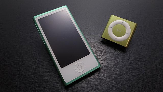 iPod nano/iPod shuffle