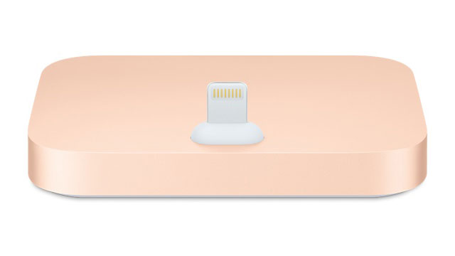 iPhone Lightning Dock ゴールド