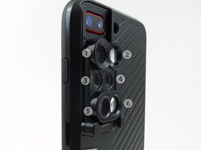 ShiftCam 6 in 1 Dual Lens Case iPhone 8 Plus/7 Plus