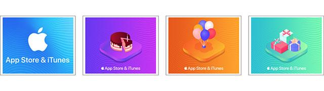 App Store & iTunesギフトカード