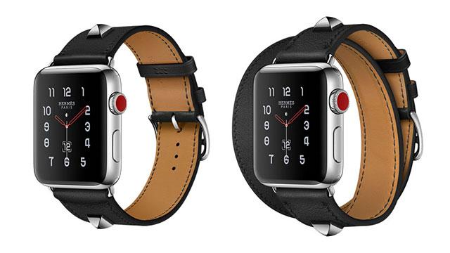 Apple Watch Hermès用レザーストラップ メドール