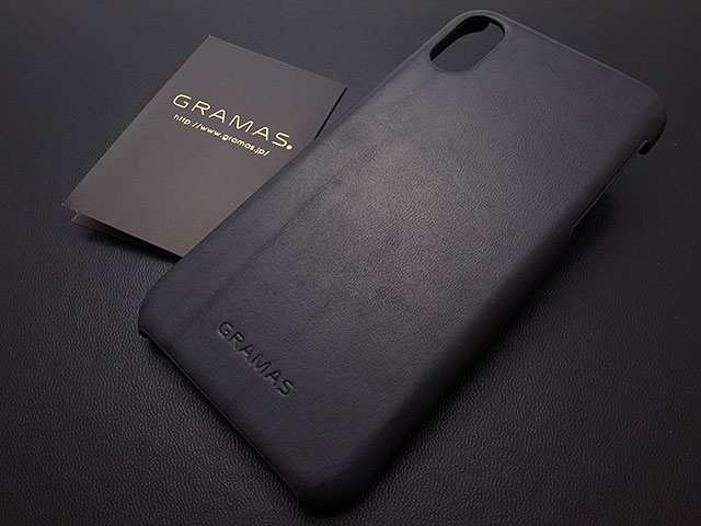 """GRAMAS """"TOIANO"""" Shell Leather Case for iPhone X"""