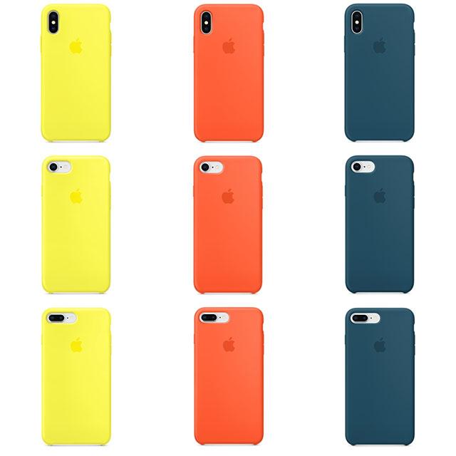 iPhone シリコーンケース