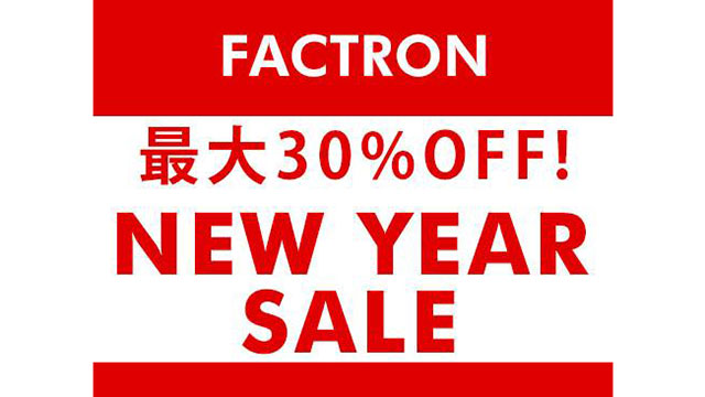 FACTRON New Year Sale 2018